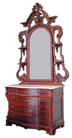 458 3pc Signed Mitchell Rammelsberg Bed Set 2697 On Large Furnitureclic Furnitureantique