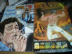 """COMICS REVOLUTIONARY COMICS ROCK N ROLL""""BOB DYLAN AND ELVIS PRESLEY"""""""