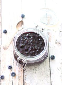 Hjemmelaget blåbærsyltetøy uten sukker | Sunnere Livsstil