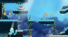 Buy Platform Game Tileset Underwater World by simirk on GraphicRiver. Platform Game Tileset 9 HD: underwaterTileset for make videogames, hight resolution : pixels. Save Our Oceans, Vector Pattern, Background Patterns, Pixel Art, Unity, Art Drawings, Environment, 2d, Games