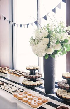 Black & White Baby Shower