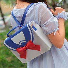 "Japanese kawaii sailor uniform bow bags - Use code ""battytheragdoll"" for 10% off!"