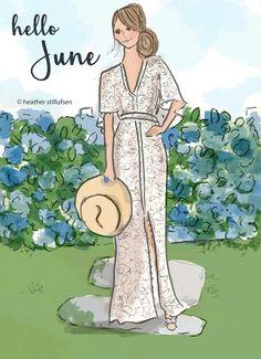 Hello June by Heather Stillufsen