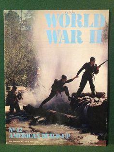 World War II Magazine Orbis Publishing 1973 Vol 3 No.42 American Build-Up