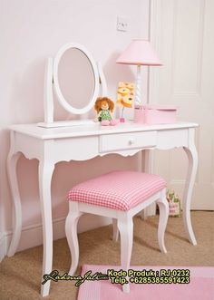 Elegant, high quality furniture, storage and soft furnishings made in the UK. Little Girls Dressing Table, Girls Bedroom, Bedroom Decor, Bedroom Ideas, Dressing Table Design, Dressing Tables, Dressing Area, Daughters Room, Granddaughters