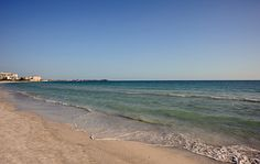 Beach on The Gulf Of Mexico.