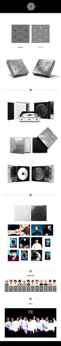 "EXO ""Overdose"" • 2nd MINI ALBUM contents"