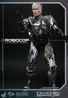Robocop RoboCop Battle Damaged Version Sixth Scale Figure by | Sideshow Collectibles