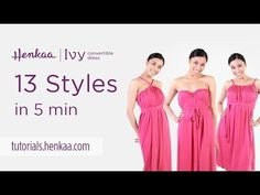 13 Ways to Wear the Ivy Convertible Dress - YouTube