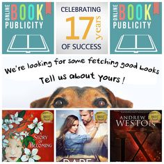 Online Book Publicity is celebrating 17 years of promoting authors and publishers! Yes, it took hard work and dedication, but it was all worth it. The rewards are happy clients and tons of bestsellers. As you can tell, I am quite content with what we do and with all my heart wishing you the same.  To celebrate, we will offer some discounts on publicity fees. You will receive more info. if you contact me here: http://www.onlinebookpublicity.com/bookpromotion.html