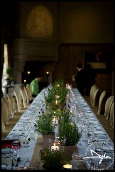 Beautiful table settings - Wedding at Village at Lyons, Co Kildare  Photographs by Dylan McBurney