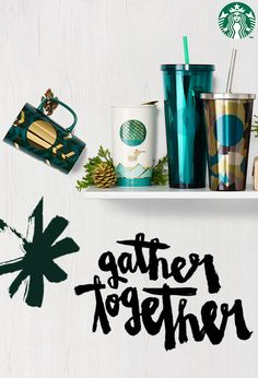 Share coffee, share tea, share the merry. Gifts to greet your perfect holiday moments.