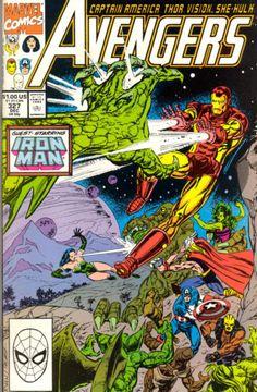 Avengers # 327 by Paul Ryan & Tom Palmer