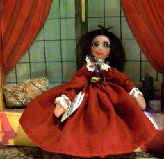 Collinwood with Daphne by dollsandmagic on Etsy (DARK SHADOWS, doll houses, Kate Jackson, haunted houses...)