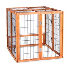 Prevue Hendryx 460PEN Pet Products Rabbit Playpen, Small