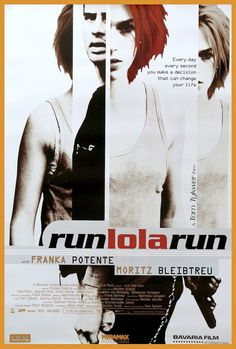 Film: Run Lola Run Premiered 18 June 1999. Just watched this in Film class and adored it