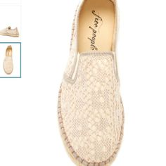 Nwt Free People espadrilles no trades please No flaws new in the box Free People Shoes Espadrilles
