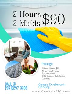 Professional Cleaning @ the Push of a Button Starting @ 2 Hours / 2 Cleaners $90 Book Online: www.genesiseic.com Licensed, Insured & Bonded (951)297-3385 Serving Los Angeles and Surrounding More than 5 Years. All OSHA Approved Supplies Included #LAPD #LAPDNews #LAModels Janitorial, Professional Cleaning, Cleaning Service, Beautiful Interiors, Take Care Of Yourself, Books Online, Maid, Las Vegas, 5 Years
