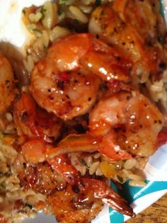 ramblings: Quick and Easy Spicy Grilled Shrimp