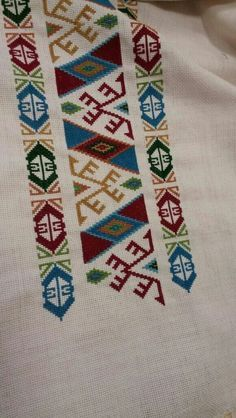"ayşenur aktürk ""This post was discovered by Sal"" Cross Stitch Pillow, Cross Stitch Borders, Cross Stitch Designs, Cross Stitching, Cross Stitch Embroidery, Cross Stitch Patterns, Hand Embroidery Designs, Embroidery Patterns, Crochet Butterfly"