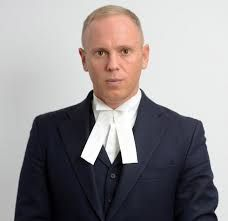 Judge Rinder on ITV 2pm Daily.