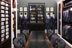 interno store monomarca hackett london milano (ph. Matteo Cirenei)