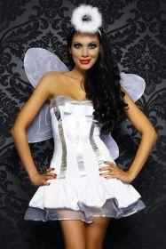 Damen Kostüm Zubehör Tüllrock Engel Karneval Weihnachten Rub