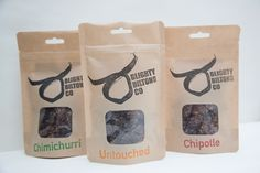 Welsh Wagyu Beef Biltong Set Of Three by BlightyBiltongCo, the perfect gift for Explore more unique gifts in our curated marketplace. Food Packaging, Packaging Ideas, Craft Ale, Healthy Protein Snacks, African Traditions, Wagyu Beef, Biltong, Ground Coriander, Chimichurri