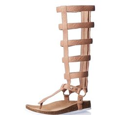 """⚡️SALE❗️ASK FOR $124❗️Leather Gladiator Sandals Rear zip entry, contoured footbed, and thong styling. Genuine leather lining and sole. .5"""" heel and .5"""" platform. Shaft height from arch 16.5"""". Boot opening 14"""" around. Brand new in box. They are absolutely stunning. ❌ NO TRADES ❌NO LOWBALLING ❌ Australia Luxe Shoes Sandals"""