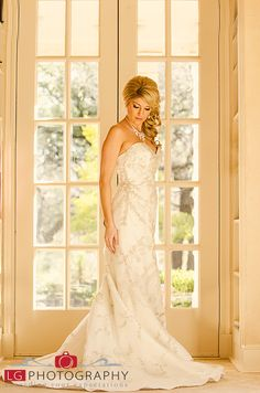 Chandor Gardens Weatherford Tx bridal photos by L.G. Photography ...