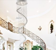 Buy European style with K9 Crystal for home Big Ceiling Light Crystal Lights on bdtdc.com