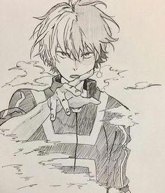 Boku no Hero Academia Hero Academia Characters, My Hero Academia Manga, Boku No Hero Academia, Anime Characters, Anime Drawings Sketches, Anime Sketch, Cute Drawings, Manga Art, Manga Anime