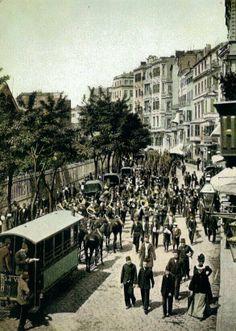 Bir zamanlar İstanbul...Mega kent İstanbul bundan onlarca yıl önce nasıldı? Kentte yaşam nasıl akıyordu? Fotoğraflarla İstanbul'un tarihinde yolculuk yapmaya ne dersiniz? (Fotoğraflar: hayalleme.com)1910s