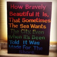 How Bravely Beautiful. By Abbey Revelle.