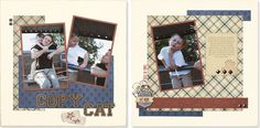 The perfect boy #scrapbook layout from #CTMH