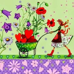 ... ilustrações de Mila Marquis