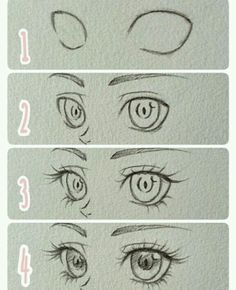 Eyes are pretty difficult to master... try these steps!