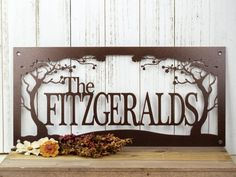 """Family Name Sign 