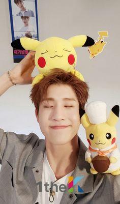 JinJin is sooo cute , look at that Pikachu on his head! Pikachu, Pokemon, Kim Myungjun, Park Jin Woo, Jinjin Astro, Astro Wallpaper, Lee Dong Min, Astro Fandom Name, Korean Boy