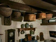 baskets on beams - Elsie Bailey