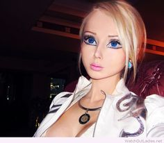 Real life Barbie look inspiration