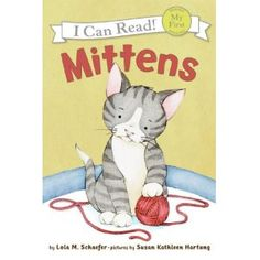 Mittens spends most of the book looking for a safe, quiet place to hide in his new home. Frightened, the kitten cries, bringing Nick, his owner, to his rescue. The controlled vocabulary in this gentle, unassuming story is made up primarily of one-syllable words, and the sentence structure is very basic. The soft pastel illustrations are simple and uncluttered and enhance the quiet tone of the text.