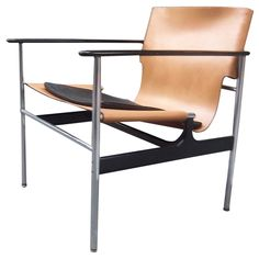 A Mid Century Club Chair by Charles Pollack for Knoll c1950's