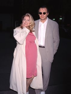 Before Tragedy Struck, Natasha Richardson and Liam Neeson Had a Fairytale Marriage Liam Neeson, Joely Richardson, Natasha Richardson, British Actresses, British Actors, Actors & Actresses, Curly Shag Haircut, Tragic Love Stories, Vanessa Redgrave