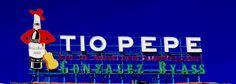 Anuncio de Tío Pepe en la Puerta del Sol de Madrid