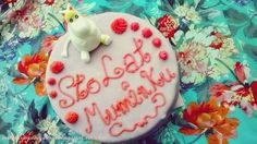 Muminkowo - Migotkowy tort Birthday Cake, Birthday Cakes, Cake Birthday