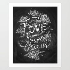 Buy Harry Potter - The Ones That Love Us Art Print by Casey Ligon. Worldwide shipping available at Society6.com. Just one of millions of high quality products available.