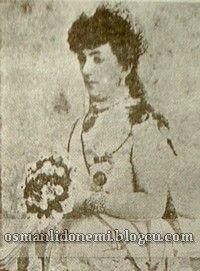 Osmanlı Hanedan Fotoğrafları Abdulhamid II - Sultan Abdulhamid'in Kızkardeşlerinden  -MEDİHA SULTAN