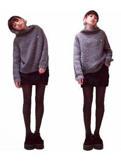 高橋愛|JEANASISのニット・セーターを使ったコーディネート - WEAR