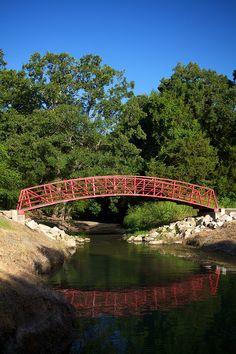 Trails at Loyd Park on Joe Pool Lake in Grand Prairie, Texas.